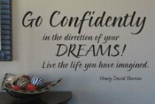 gå efter dine drømme _