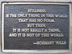 stillness mindfulness