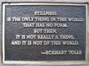 stillness mindfulness