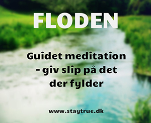 Floden guidet meditation dansk slip følelser