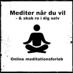 Online meditationsforløb